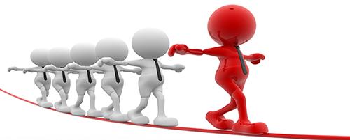 Leiding ontvangen vaak moeilijker dan leiding geven …