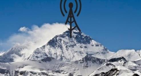 MOUNT EVEREST KRIJGT GRATIS WIFI – nu zijn we overal veilig …