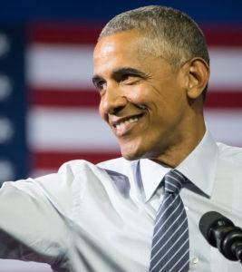Spreken als Obama
