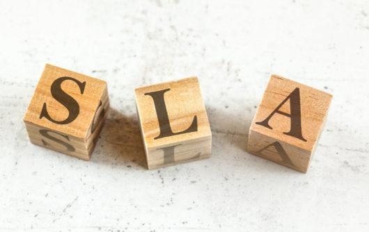 SLA – service level agreements