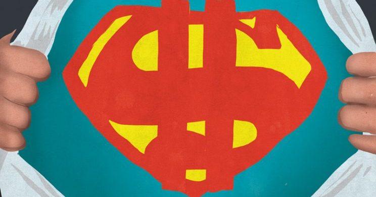 UW CFO IS DE HELD VAN UW GELD, MAAR U BENT DE ECHTE SUPERMAN